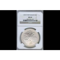 2010-P Boy Scouts Commemorative Silver Dollar MS70/NGC