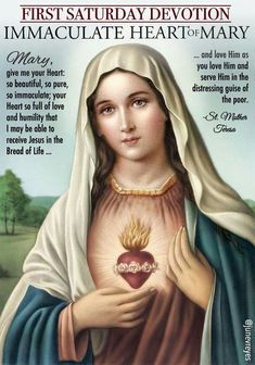 First Saturday Devotion Catholic Prayers, Prayers To Mary, Novena Prayers, Catholic Quotes, Special Prayers, Prayer Verses, Faith Prayer, Rosary Prayer, Prayer Times
