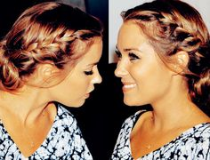 love the braid and the color