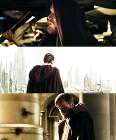 Obi-Wan: I think you know in your heart that you're meant for something extraordinary.  Anakin: And you, Master. What does your heart tell you you're meant for?Obi-Wan: Infinite sadness.