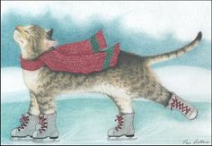 """""""Winter Bliss"""" - The Inky Paw"""