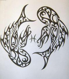 Zodiac Tattoo Designs Pisces  Madscar picture 2143