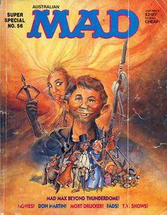 MAD Magazine | Australian Mad Magazine Super Special #56 (1986), Cover