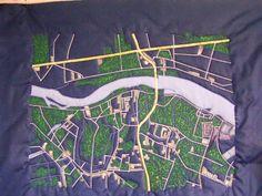 Warsaw neighborhoods in Oak dam.