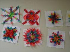 Amy's Artsy Adventures: 5th Grade Radial Relief Paper Designs