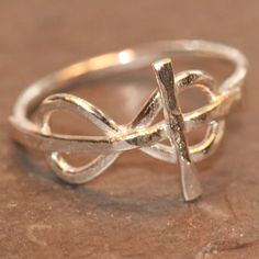 infinity cross. shows god & faithfulness all in one