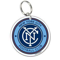 New York City FC WinCraft Acrylic Key Ring