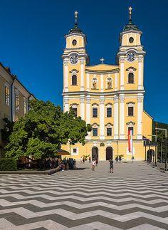 The Wedding Church, Mondsee, Austria