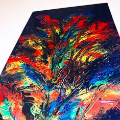 Tie Dye Skirt, Feather, Abstract, Artwork, Color, Summary, Quill, Work Of Art, Auguste Rodin Artwork
