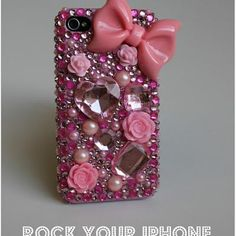 bling out phone case (going to do this for a couple sweet girls I know!)
