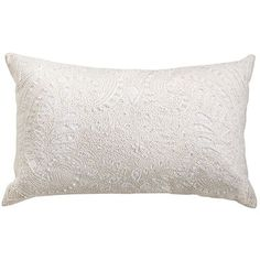 Beaded Lace Pillow - Ivory - Pier 1 $17.38 Clearance