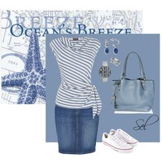 """light blue for marine"" by selenitabr on Polyvore"