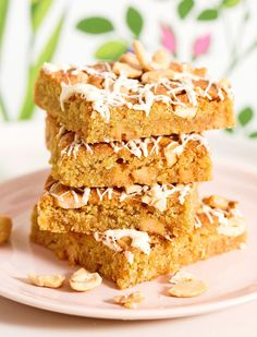 Finnish Recipes, Blondie Brownies, Toffee, Blondies, Food And Drink, Sweets, Baking, Desserts, Kitchen Inspiration