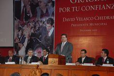 El gobernador Javier Duarte de Ochoa acude a 3er Informe del Alcalde Davis Velasco