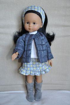 Ensemble jupe doudoune avec bottes pour poupée 33 cm compatible Chéries Corolle in Jouets et jeux, Poupées, vêtements, access., Autres   eBay