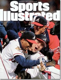 November 6, 1995 - The 1995 World Series; the Atlanta Braves (finally) World Series Champions!