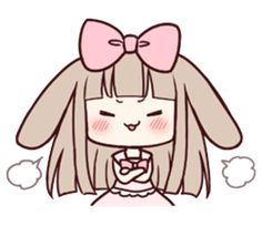 Rabbit Myuu - Creators' Stickers