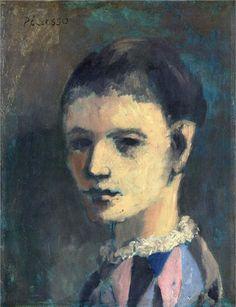 Картина Пабло Пикассо. Голова арлекина. 1905 ($15,2 млн)