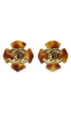 House of Lavande Chanel Earrings via Moda Operandi