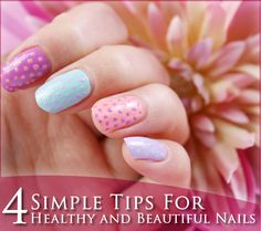 When it comes to polishing your nails everyone has different taste, and I'm sure you already know how to do it, but for healthy and beautiful looking nails - the rules are same for everyone. 4 Simple Tips For #Healthy and #Beautiful #Nails - #Nailcare