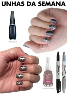 sharpie on nails!
