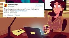 This artwork combining Superman and Facebook is so on point Read more Technology News Here --> http://digitaltechnologynews.com  LONDON  Ever wondered how Superman would keep his identity a secret in the modern days of technology and social media?  Chances are it wouldn't be the easiest task in the world. But one artist has captured that perfectly.  SEE ALSO: Girl in Supergirl costume puts all other school pictures to shame  On Monday an illustrator who goes by the name Brakken (real name…