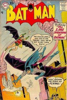 1957-08 - Batman Volume 1 - #109 - The 1,001 Inventions of Batman #BatmanComics #DCComics #BatmanFan #Batman #ComicBooks