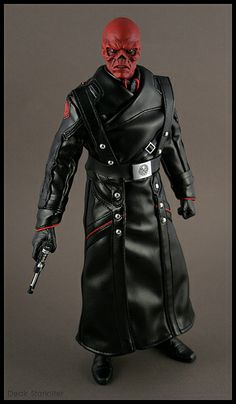 Hot Toys the Red Skull 1/6th scale action figure