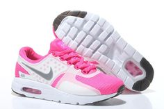 finest selection d50f4 63c09 Billige Nike Air Max Zero QS Air Max Day Running Sko Hvit Fersken Rød