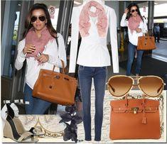 Celebrity Fashion Style | ... airport like Eva Longoria , who looks great in casual getaway fashion