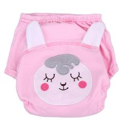 Cartoon Nappy Cotton Baby Reusable Diapers Washable Cloth Diaper Cover Children Baby Nappies Baby Swim Nappy Training Pants
