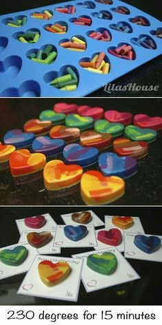 25 Trendy Crayon Art Diy Crafts For Kids Valentine Day Crafts, Holiday Crafts, Valentine Heart, Kids Valentines, Saint Valentine, Thanksgiving Crafts, Crafts To Make, Easy Crafts, Creative Crafts