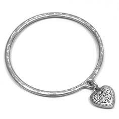 e994d8e2d sterling silver jewellery york Danon jewellery Pewter Bangle, danon  jewelery with hearts, bird, hamsa, angel-wing Sterling silver jewellery  range of Fashion ...
