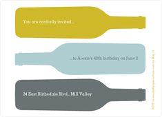Fine Wine Party Invitation