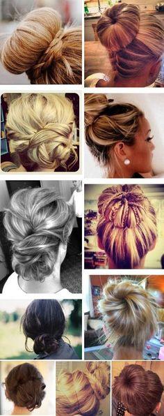 Ballerina Buns for Teen Hairstyles  #girlshairstyles #BallerinaBuns