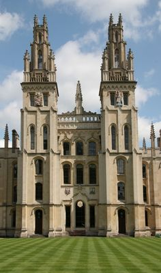 All Souls College, Oxford, Hawksmoor's  Twin Towers