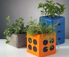 12 Upcycled Planters You Can Make From Stuff You Have at Home via Brit + Co.