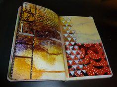 Joanne Rosario -- Great use of the Balzer Designs Triangle stencil!