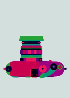 Leica M3 Un homenaje dibujado a las cámaras clásicas
