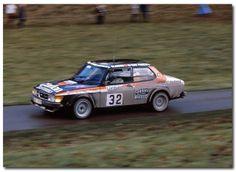 Saab 99 Turbo. 1980 Lombard RAC Rally GB.