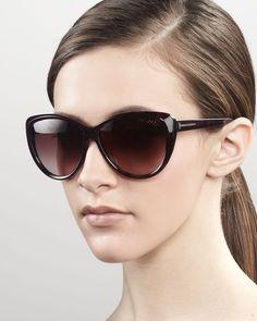 TOM FORD Purple Womens Malin Cateye Sunglasses - Lyst