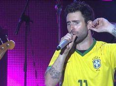 Eu fuii *-* São Paulo 26-08-2012 / Maroon 5