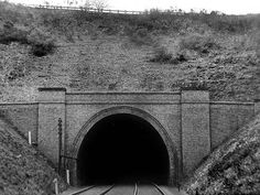 Sherwood Tunnel north portal. Train Tunnel, Derelict Places, Old Train Station, Disused Stations, Steam Railway, Derbyshire, Nottingham, Portal, Past