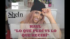 HAUL SHEIN & DONALOVEHAIR (TRY ON)   Lo que pedí vs lo que recibí Especi...