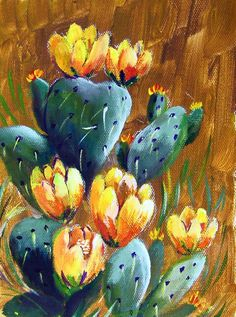 Prickly Pear Cactus:  Has been brought out from retirement as this weeks by popular request.