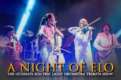 """ELO Again - A Night of ELO"" on September 27, 2015 at 7:30 pm - 10:00 pm. ELO Again really do give you a dramatic taste of what the classic ELO were like in the heyday. Category: Arts 