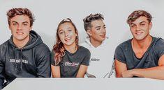 Dolan Twins, Emma Chamberlain and James Charles Ethan Dolan, Grayson Dolan, Vlog Squad, Squad Goals, Shane Dawson And Ryland, Dollan Twins, Siblings, Jimmy Tatro, Dolan Twins Wallpaper