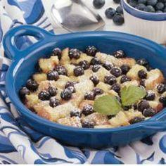 Blueberry Bread Pudding Allrecipes.com