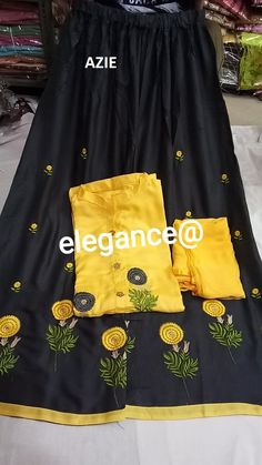 Buy Rreflection plazo suit online from Rreflection shop Punjabi Suits Designer Boutique, Indian Designer Outfits, Designer Dresses, Embroidery Suits, Embroidery Fashion, Girl Outfits, Casual Outfits, Casual Wear, Beautiful Dress Designs