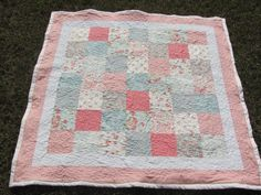Beautiful Quilt from Mom's Lemonade Stand on Etsy! :)